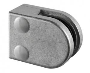 Clema MOD 27 fixare pe drept pentru montant balustrada sticla 8,76-10,76 mm