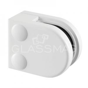 Clema sticla, 40x40mm, G=6 mm ,zinc alb