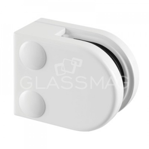 Clema sticla, 40x50 mm, G=8 mm ,zinc alb