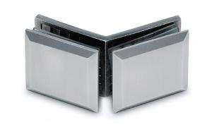 Conector cabina dus sticla/sticla 135°
