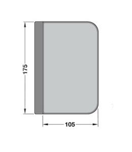 Contrabroasca Junior Office usa sticla 8-10 mm
