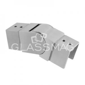 Cot reglabil in sus pentru mana curenta profilata patrata ,40x40 mm ,inox satinat