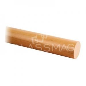 Mana curenta lemn, Ø42 mm ,L=2500 mm,fag lacuit