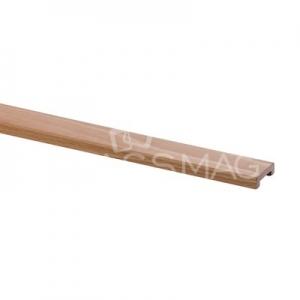 Profil U lemn ,L=2500 mm,stejar lacuit