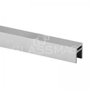 Profil mana curenta Easy Glass Hybrid 33x39 mm, montaj la exterior, aluminiu eloxat