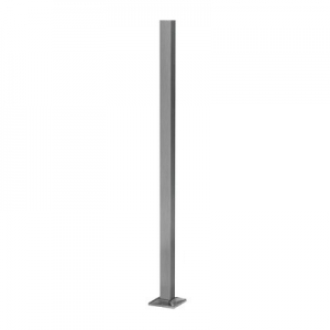 Montant profil mana curenta Easy Glass® Hybrid, H=1240 mm