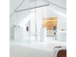 Set 1 usa glisanta Muto Comfort L 80 Dorma, fixare pe sticla, sticla 8-13.5 mm, L= 2687mm