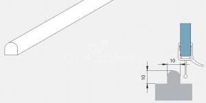 Prag pardoseala cabina dus, L=2000 mm