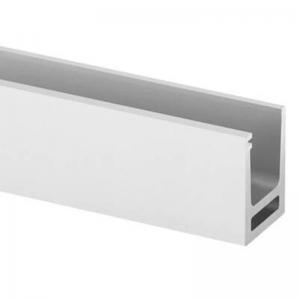 Profil U balustrada Easy Glass® Hybrid fixare pardoseala