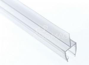 Garnitura cu banda mediana sticla 10 mm cabina dus,L=2200 mm