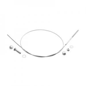 Set cablu inox ,Ø4.0 mm ,L=1000 mm