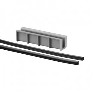 Set cale si garnituri profil U balustrada Easy Glass® Hybrid