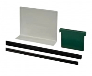 Set cale si garnituri profil U balustrada Easy Glass® Eco sticla 12-21,52 mm, L=25 ml