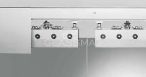 Set usa glisanta RS 120 Syncro Dorma, L=2000mm