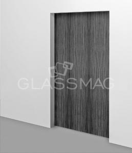 Set usa glisanta CS 80 Magneo Dorma LV3 pentru usa de lemn, L=1125mm