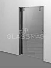 Set usa glisanta CS 80 Magneo Dorma LV3 pentru usa de sticla, L=1125mm