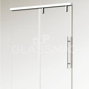 Set usa glisanta CS 80 Magneo Dorma LV3 pentru usa de sticla, L=2340mm