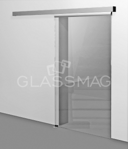 Set usa glisanta CS 80 Magneo Dorma LV1 pentru usa de sticla, L=1840mm