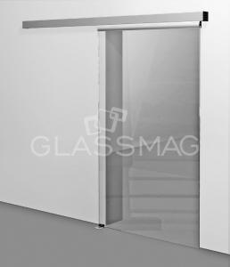 Set usa glisanta CS 80 Magneo Dorma LV2 pentru usa de sticla, L=2090mm