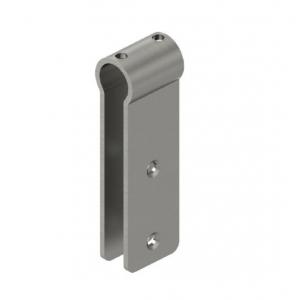 Conector teava Ø25 mm/sticla-HPL 10-13 mm compartimentare toaleta