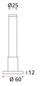 Picior reglabil 120-150 mm sticla/HPL 10-13 mm compartimentare toaleta1