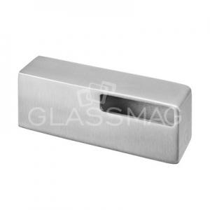 Suport mana curenta rectangulara ,40x10 mm ,inox satinat