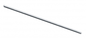 Tija Ø12xM12 mm, L=1208 mm