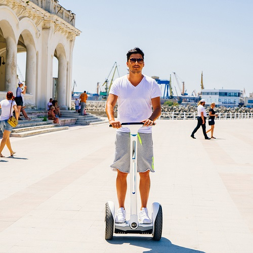 Utilizare turism - Ninebot by Segway E+