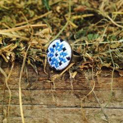 Inel Traditional Albastru
