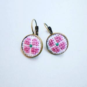 Cercei roz prafuit1