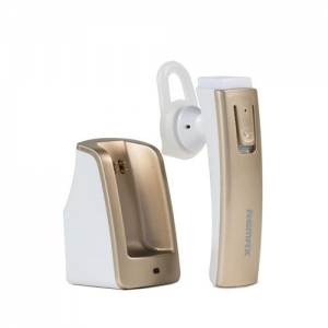 CASCA BLUETOOTH REMAX RB-T6C 4.0 CU DOCKING INCARCARE, GOLD