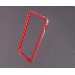Bumper husa protectie iPhone 5C margine silicon ROSU1