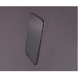 HUSA bumper iPhone 6 din gel siliconic TRANSPARENT fumuriu0