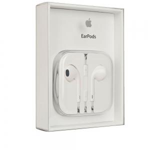 HANDSFREE iPhone Earpods - MD827ZM 3.5mm alb BLISTER - orig.