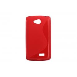 Husa Silicon LG F60 D390 Rosu
