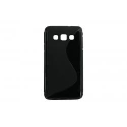 Husa Silicon Samsung Galaxy A3 A300 Negru