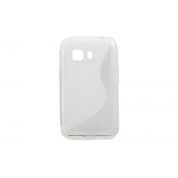Husa Silicon Samsung Galaxy Young2 G130 Transparent