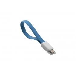 USB Cablu My-Magnet compatibil cu iPHONE 5/6 Albastru