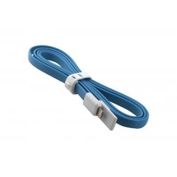 USB Cablu My-Trim compatibil cu iPHONE 5/6 Albastru
