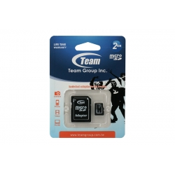 Card Team Micro SD Clasa4 02GB
