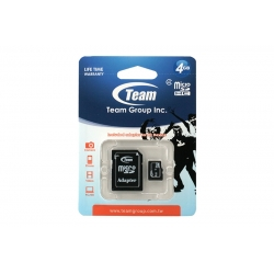 Card Team Micro SD Clasa4 04GB
