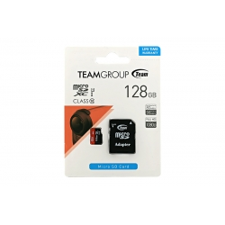 Card Team Micro SD Clasa10 128GB