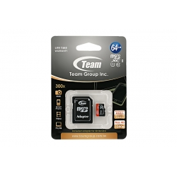 Card Team Micro SD Clasa10 64GB