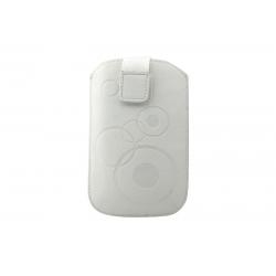 Toc Slim iPHONE 4/Samsung Ace Alb
