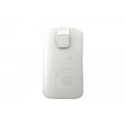 Toc Slim iPHONE 5/5S/5C Alb
