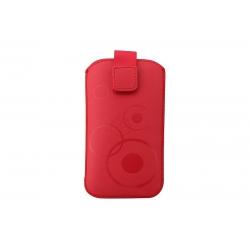 Toc Slim iPHONE 5/5S/5C Rosu
