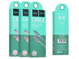 CABLU HOCO X2 KNITTED CHARGING MICRO USB, ROSE GOLD