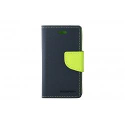 Toc My-Fancy iPHONE 4/4S Albastru/Lime