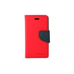 Toc My-Fancy iPHONE 4/4S Rosu/Albastru