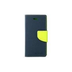 Toc My-Fancy iPHONE 5/5S Albastru/Lime